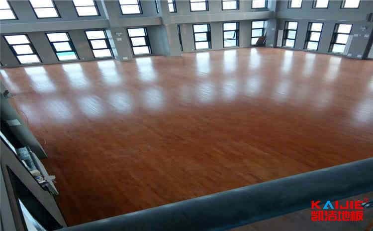 22厚篮球场地木地板怎么保养?-凯洁地板