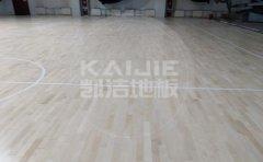 安徽室内篮球场木地板