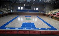 室内地板篮球场地用什么材料-凯洁地板