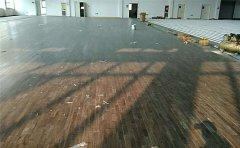 篮球场专用运动地板要求质量要求